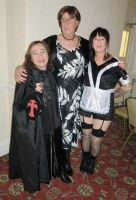 Mica, Judith & Maxine<br/>Rocky Horror Party
