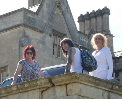 Karen, Maxine and Martine, photo by Yasmine